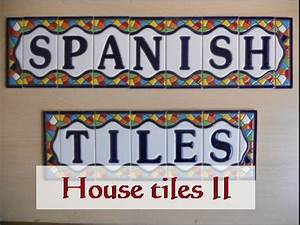 wwwtraditionalspanishceramicscom handmade traditional With spanish letter tiles