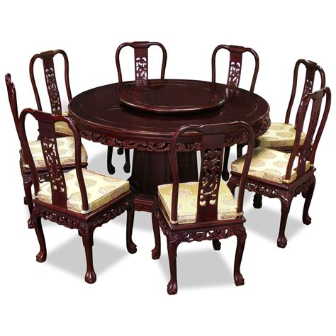 round wood dining room table round wood carving dining room table with 8 foamy seats