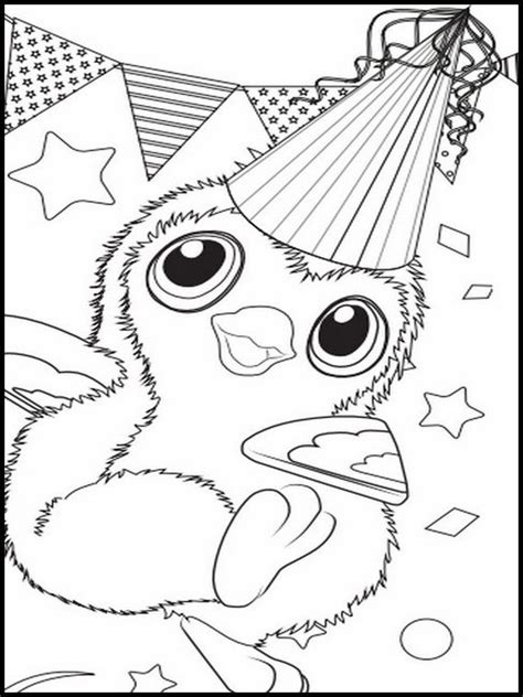puppit  hatchimals coloring pages  printable sketch coloring page