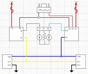 Headlight Wiring Following 4crawlers Diagram Question