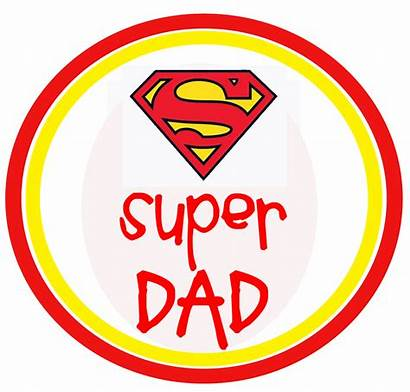 Dad Clipart Daddy Super Father Printable Dads