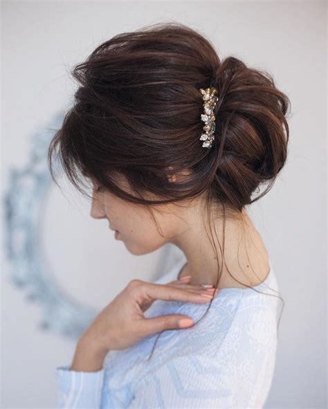 25 best ideas about updo on hair wedding hair and bun updo