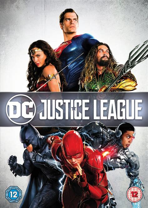 Justice League | DVD | Free shipping over £20 | HMV Store
