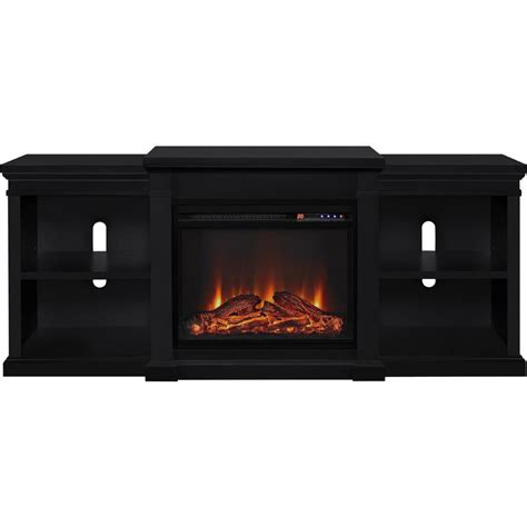 70 tv stand with fireplace altra furniture manchester fireplace 70 in tv stand with