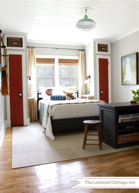 condo bedroom bedside closet design