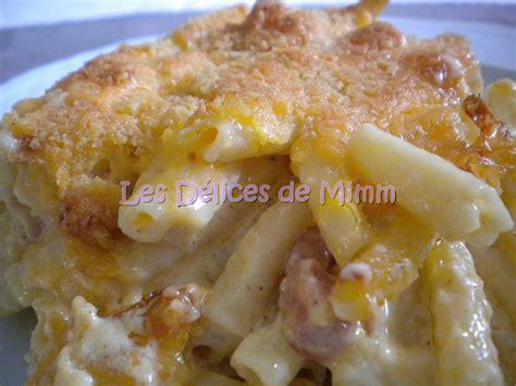 gratin des pates au bechamel gratin de macaronis aux lardons les d 233 lices de mimm