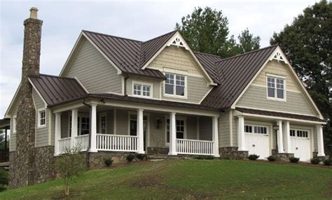house with brown metal roof google search projects to