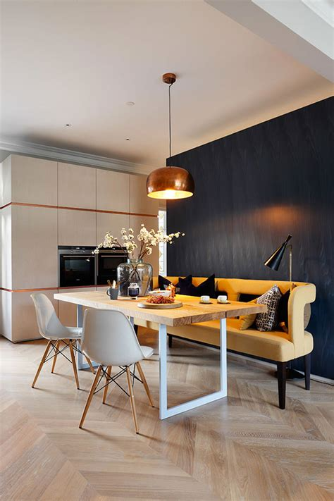 arredo sala da pranzo panche e sedie di design per tavolo da pranzo 30 idee di