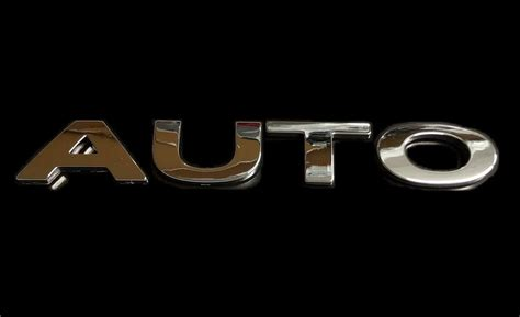 Auto Chrome 3d Self-adhesive Letter Car Badge Emblem Sticker For Home & Auto