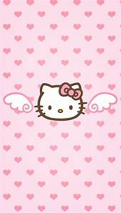 Made it by myself.. For iphone 5 wallpaper | Hello Kitty ...