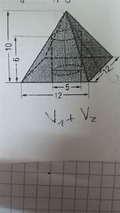Quadratische Pyramide A Berechnen : oberfl che der pyramide zusammengesetzte k rper forum mathematik ~ Themetempest.com Abrechnung