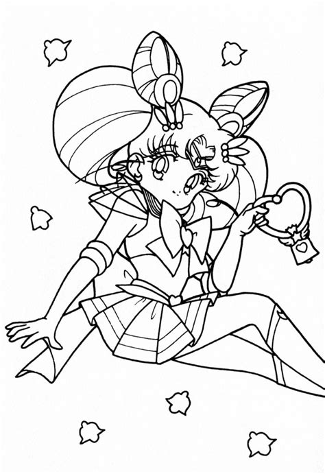 Free Printable Sailor Moon Coloring Pages For Kids