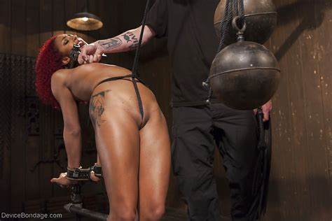 Black Girls Nikki Darling And Daisy Ducati Abused In