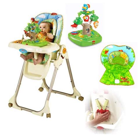 fisher price rainforest high chair replacement parts