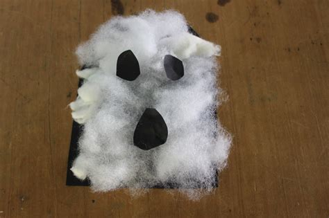 cotton ghost craft for cotton wool ghost my kid craft 7525