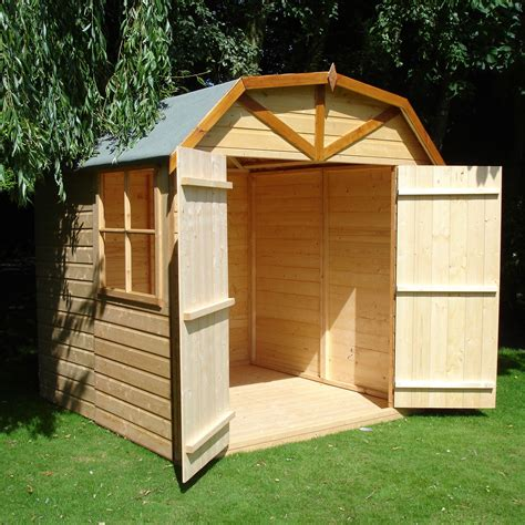 Shiplap Shed by 7x7 Door Apex Shiplap Wooden Shed With