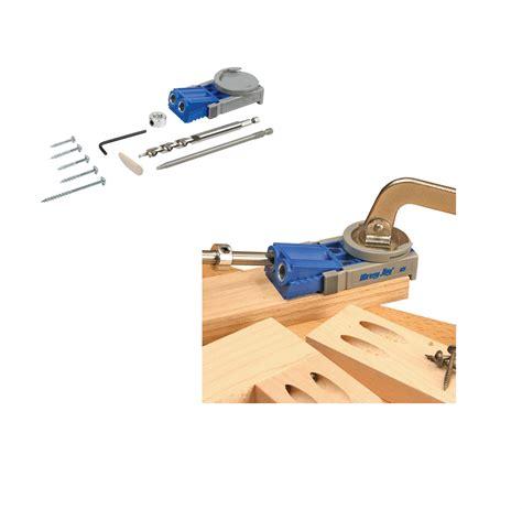 kreg  jig junior pocket hole wood joinery kit woodwork