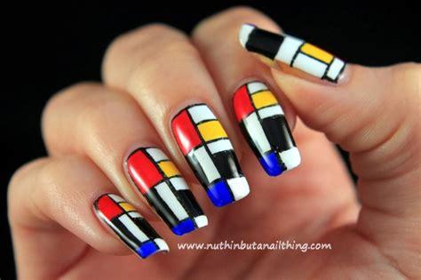 abstract nail art ideas  creative  unique nail