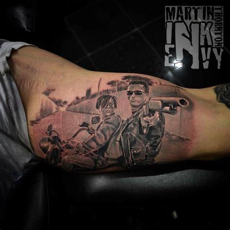 terminator tattoo ideas  pinterest arm