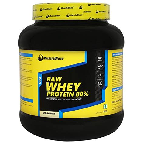 Compare & Buy MuscleBlaze 80% Whey Protein Supplement
