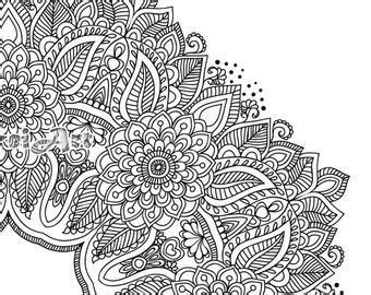 38,000+ vectors, stock photos & psd files. Flower Mandala Coloring Page Printable Pdf Blank Mandala
