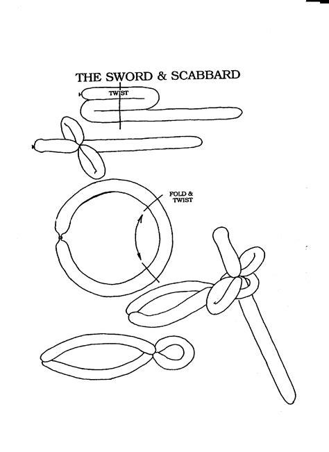 Balloon sword | Fun educational activities, Balloon sword