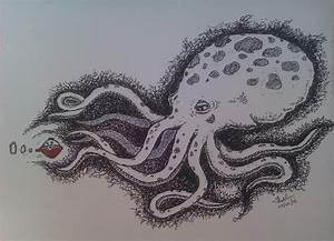 Giant Octopus n the Alien attack.. by Napst3rs on DeviantArt