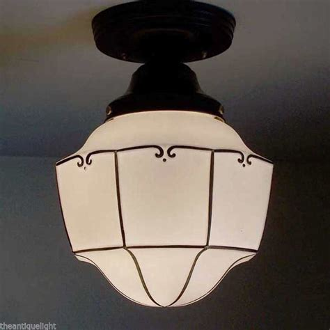 unique ceiling l light glass shade fixture kitchen