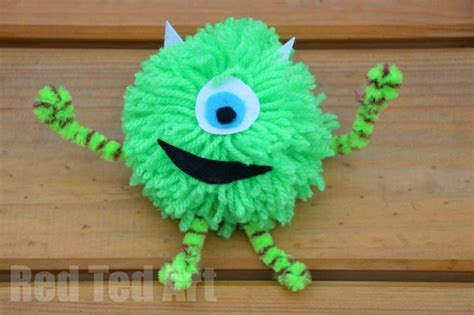 monsters  craft ideas red ted arts blog