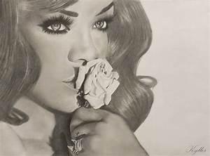 Rihanna drawing by kyllerkyle on DeviantArt