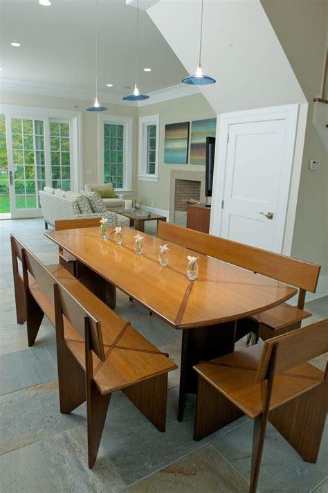 custom bamboo dining table  benches  bamboogems
