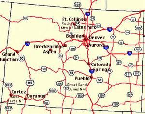 Colorado Road Map Printable