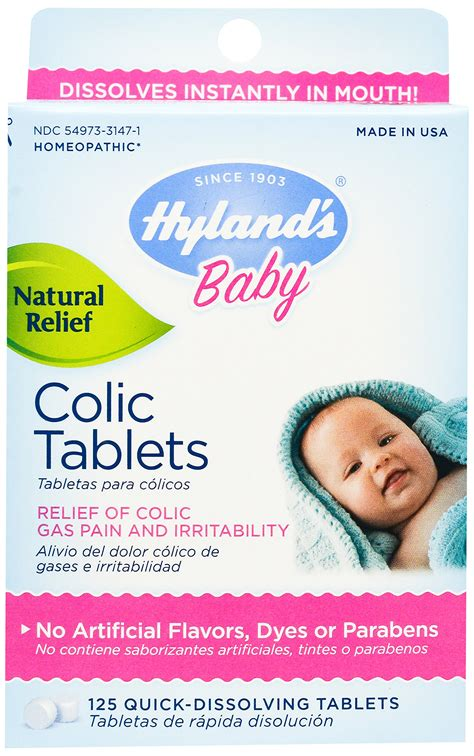 Amazoncom Hylands Baby Calming Tablets Natural Relief