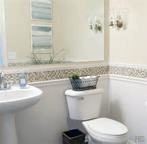 bathroom wallpaper border ideas chair rail molding ideas for the bathroom renocompare