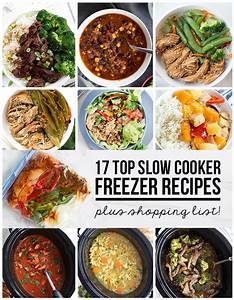 17 Top Freezer Slow Cooker Recipes