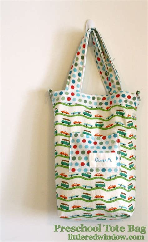 preschool tote bag tutorial aka i can t believe my kid s 618 | IMG 2527