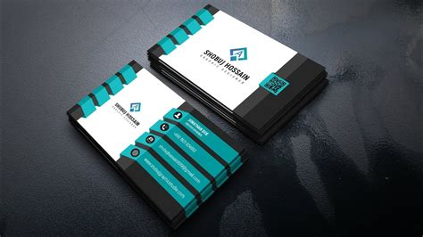 create   business card design photoshop tutorial