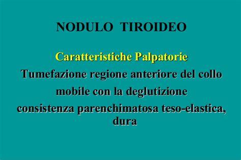 nodulo mobile al approccio clinico alle tireopatie nodulari