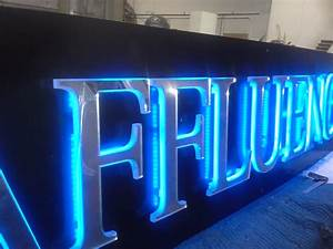 sign can channel letter edge lit halo lit and led upgrade With edge lit channel letters