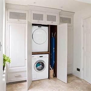 Waschmaschine Im Schrank : utility remodel final board pinterest coin de buanderie lavage et coins ~ Sanjose-hotels-ca.com Haus und Dekorationen