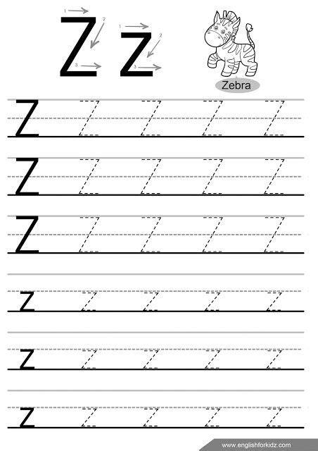 letter z tracing worksheet handwriting practice worksheet games letter tracing worksheets