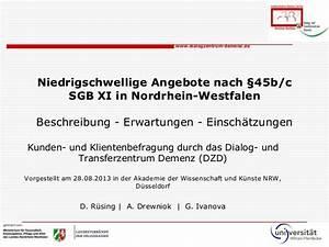 45b Sgb Xi Abrechnung : niedrigschwellige betreuungsangebote f r demenzerkrankte in nrw vort ~ Themetempest.com Abrechnung