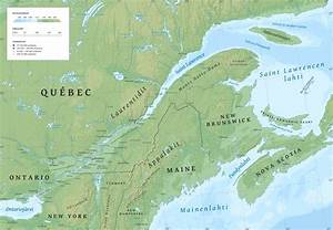 st lawrence river on map