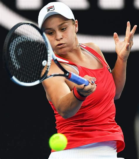 See her boyfriend's names and entire biography. ASHLEIGH BARTY at Australian Open Tennis Tournament in ...