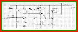 2 Km Fm Transmitter Circuit Diagram  Working And