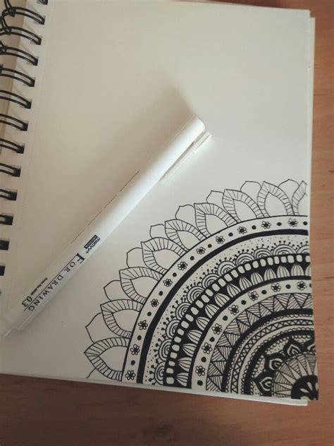mandala draw mandala sketchbook ideas
