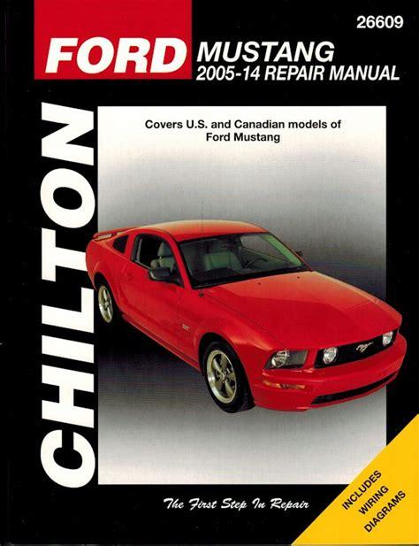 ford mustang repair service manual   chilton