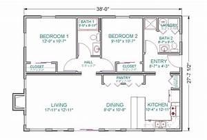 1100 Square Foot Ranch House Plans - Home Deco Plans