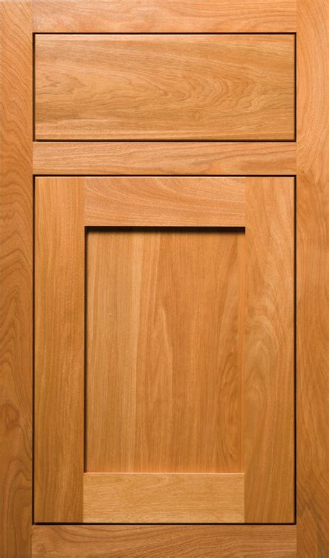 red birch door    special quaker door style