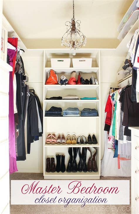 Master Closet Organization Ideas by Master Bedroom Closet Organization Ask